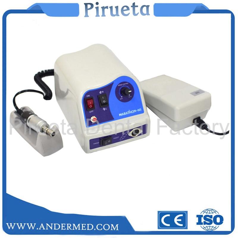 Dental Lab MARATHON Micromotor Machine N8 + Electric Micro Motor 220V/110VDental Lab MARATHON Micromotor Machine N8 + Electric Micro Motor 220V/110V