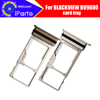 BLACKVIEW BV9600 Card Tray 100% Original New High Quality SIM Card Tray Sim Card Slot Holder Repalcement for BV9600 phone