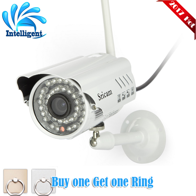 Sricam SP014 Wireless IP Camera  Infrared Mini Smart Onvif Security CCTV WiFi Surveillance Inspection Outdoor IP66 for Home