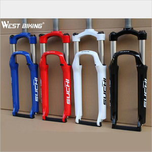 Алюминиевая вилка с подвеской для велосипеда, наружный диаметр 26 дюйм. Горный велосипед, жесткая вилка MTB для езды на горном велосипеде, для ...