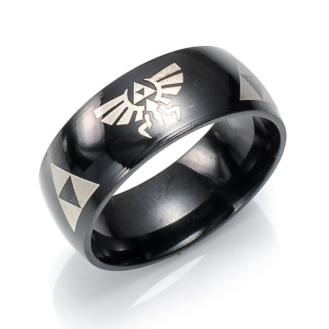 Anime The Legend of Zelda Steel Ring