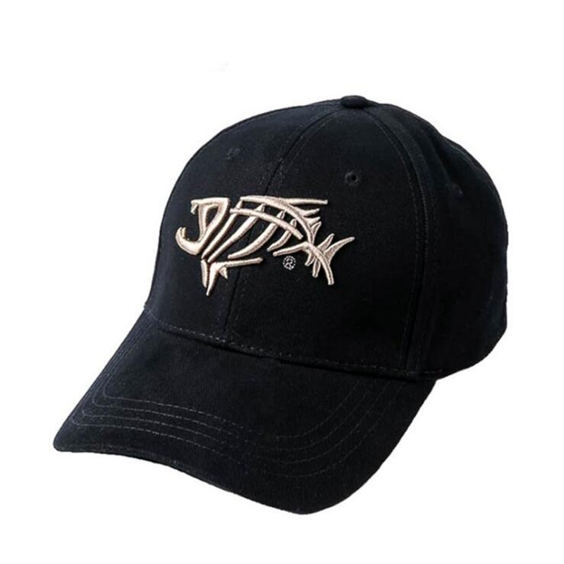 hot sales Fishing   Cap     Baseball     Cap   For Men Sunshade Sun Fish Bones Embroidered   Cap   Fishing Hook High Quality Fashion Dad Hat
