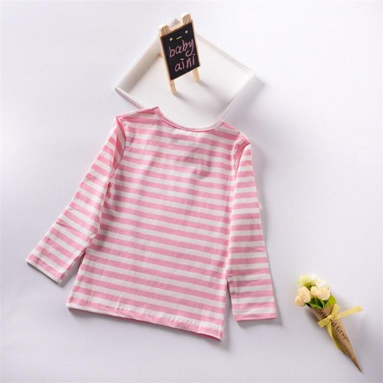377e484f4f3d Spring Autumn 2018 Striped Long Sleeve Hello Kitty T - Shirt Boys ...