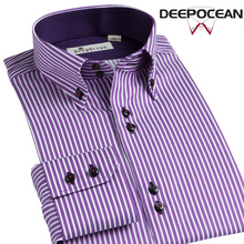 New Cotton Men Shirts Fashion Casual Shirt