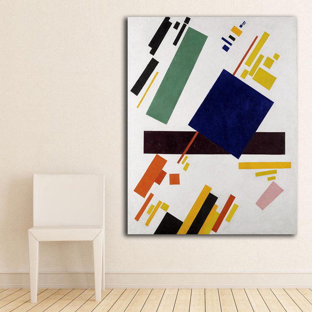 Suprematist Composizione Wassily Kandinsky Tela Pittura Per ...