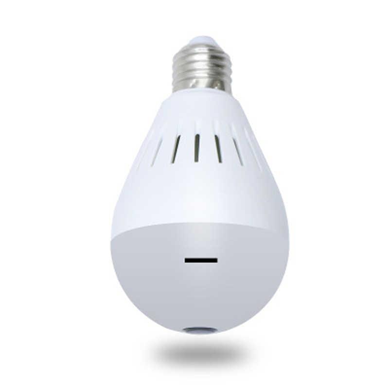 """Wouwon лампа WiFi Беспроводная ip-камера HD 960P панорамная 360 """"рыбий глаз Домашняя безопасность внутренняя камера видеонаблюдения XMEye ночного видения P2P"""