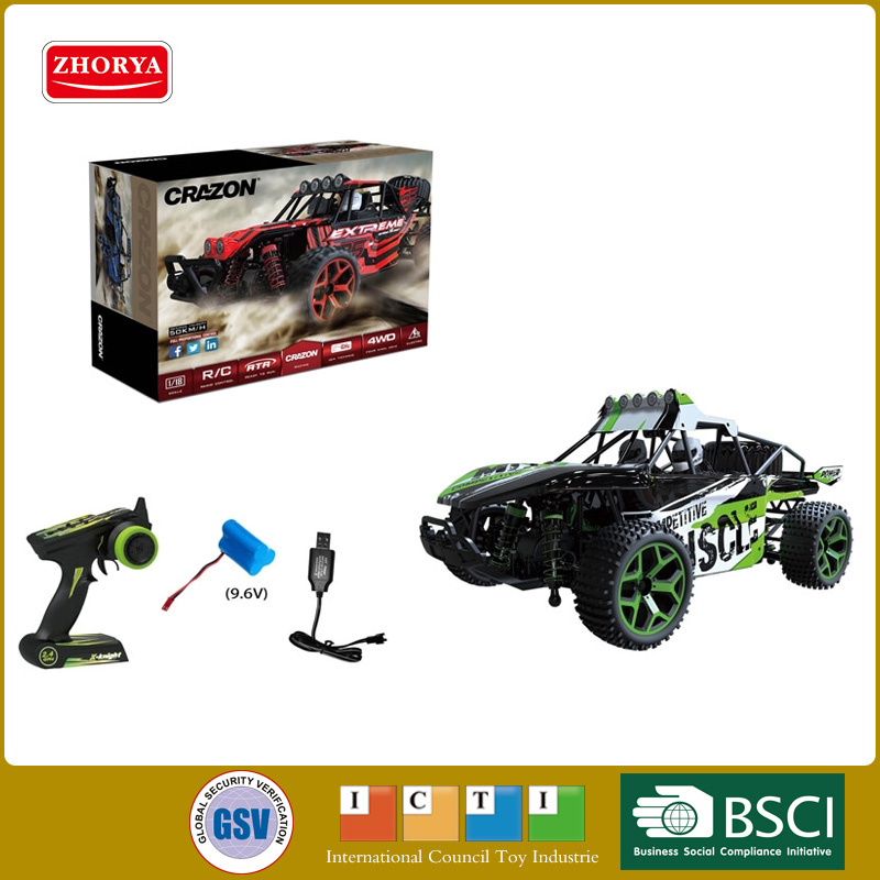 Hot Cool super high speed 50km/h 1:18 scale 4wd Off-road vehicle remote control racing cars 2.4Ghz rc toys huanqi 543 off road rc vehicle 1 10 scale tires high speed remote control racing car cars vehicles shipping