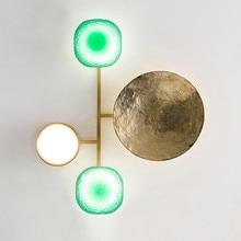 New Vintage Novelty Copper Led Wall Lamp Indoor Atr Decoration For Parlor Bedroom Bedside Aisle Diningroom Led Wall Light Sconce