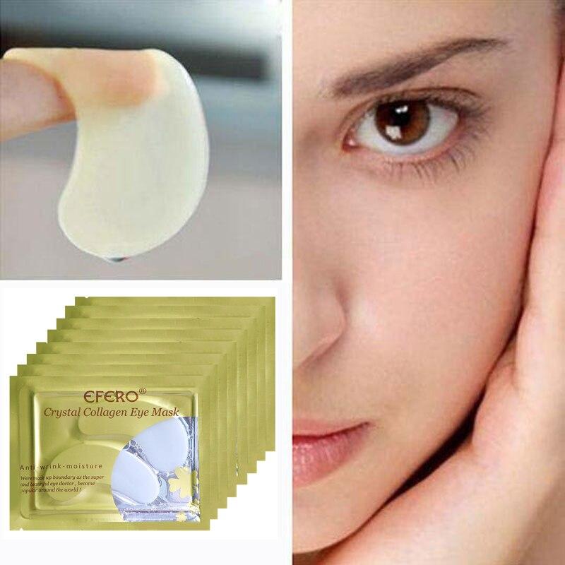 efero 5pair 10pcs Crystal Collagen Eye Mask for Gel Patch Dark Circle Remove Anti Puffiness Moisturize Eyes Masks Pads