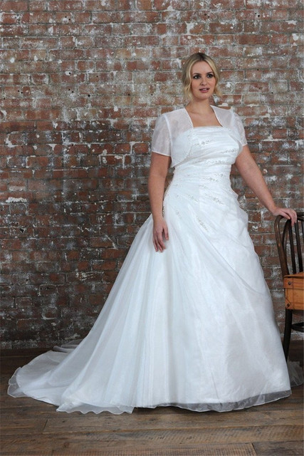 Vestido de novia con bolero
