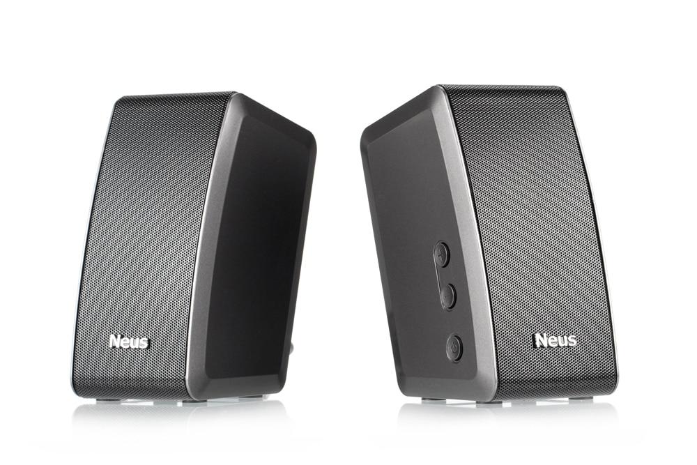 Tüketici Elektroniği'ten Raf Tipi Hoparlörler'de Neusound Nexus 20W Yüksek son güç bilgisayar masaüstü multimedya Bluetooth hoparlörler uzaktan kontrol DSP derin bas title=