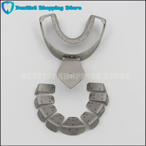 Image 4 - Dental Implant Impression Tray Removing Segments Position of the Abutments