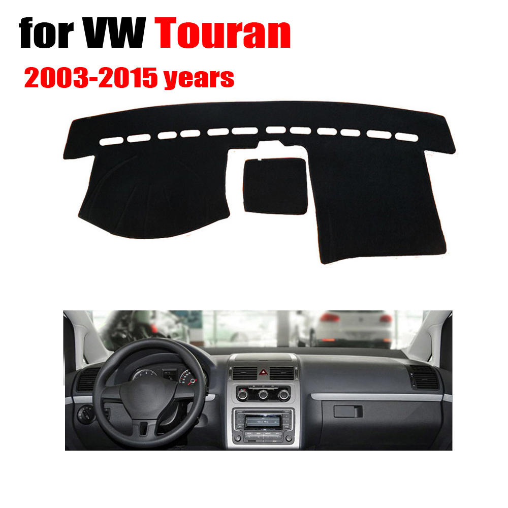 FUWAYDA Car dashboard covers mat For VOLKSWAGEN VW touran 2003-2015 years dashmat pad dash covers Instrument platform