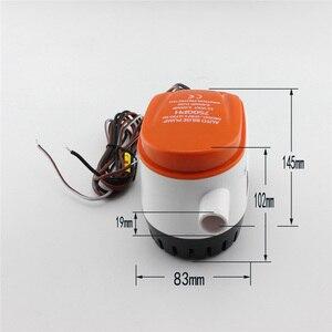 Image 5 - 750 12 v 해양 보트 잠수정 펌프 gph 자동 빌지 펌프 배수 펌프 보트 액세서리 해양