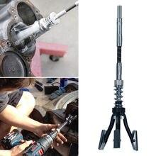 19 мм-62 мм Длинный тормозной цилиндр отточить 3 ноги хонинговальный двигатель инструмент гибкий вал отточить автомобиль двигатель тормозной цилиндр отверстие хонинговальный инструмент