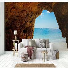 Пользовательские обои фрески средиземноморские пещеры горизонт