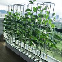 Hohe Qualität Balkon indoor Hydrokultur system NFT wasser kultur soilless anbau organischen gemüse pflanzung box-in Anzuchttöpfe aus Heim und Garten bei