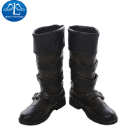 MANLUYUNXIAO New Arrival Men's NieR Automata YoRHa No. 9 Type S Halloween Carnival Cosplay Boots