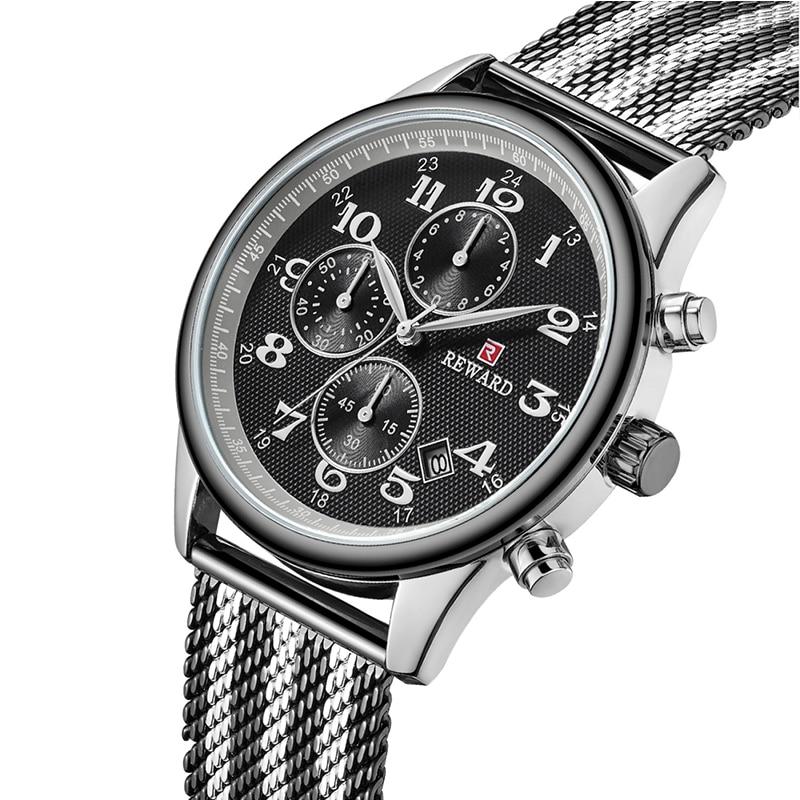 Men Luxury Business Quartz Ultra Thin Watches Mesh Steel Male Clock Sports Waterproof Casual Wrist Watch relogio masculino