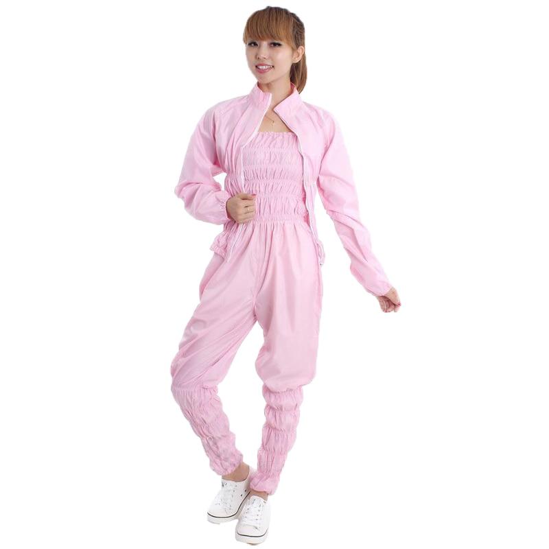 1ebedc8faa Mujeres aerobic ropa pérdida de peso traje adelgazamiento Pantalones sauna  fitness sauna traje mujer sauna Pantalones pantalón set camisa m L XL 2XL  3XL en ...