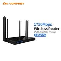 1750Mbs AC двухдиапазонный удлинитель сетевого кабеля ГГц + 5 ГГц Comfast Беспроводной Wi Fi маршрутизатор повторитель CF WR650AC гигабитный маршрутизато