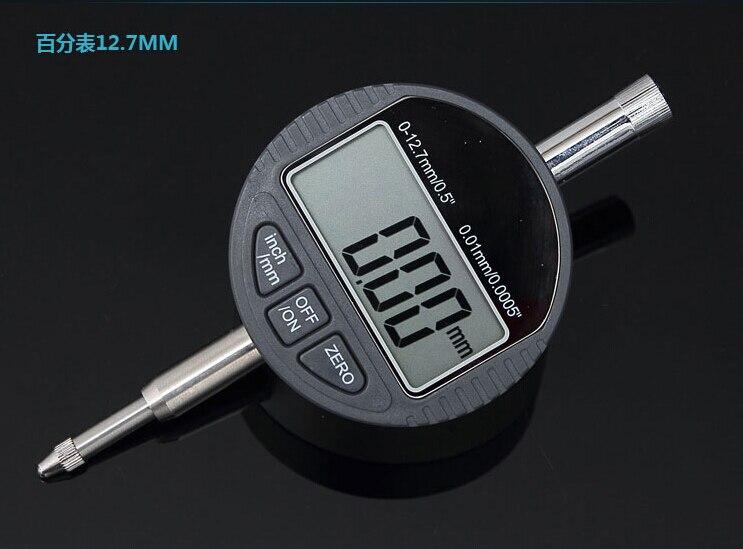 12,7 mm elektronický indikační číselník 0,01 mm digitální číselník indikační měřič Velké LCD milimetrové indikační měřicí nástroje