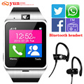 2017 GV18 Плюс Smart watch phone GSM NFC FM Камеры наручные Часы sim-карты Smartwatch для Samsung Android Телефон PK DZ09