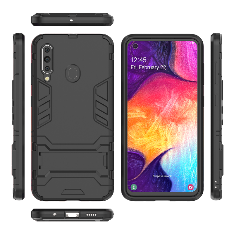 Image 4 - For Samsung Galaxy A60 Case SM A606 Luxury Robot Hard Back Fundas Phone Case For Samsung Galaxy A60 Cover For Samsung A60 Case-in Fitted Cases from Cellphones & Telecommunications