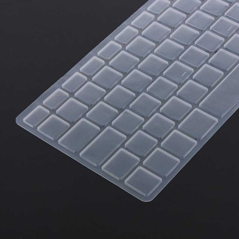Новая силиконовая накладка для клавиатуры ЕС Кожа ноутбука протектор для ноутбука для Apple для Macbook Pro 13 15 17 Air 13