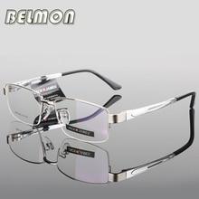 AL MG оправа для очков мужские компьютерные оптические очки оправа для мужчин прозрачные линзы Armacao de RS276