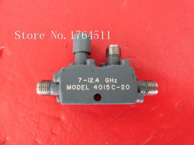 [BELLA] Narda 4015C-20 7-12.4GHz 20dB Coaxial Directional Coupler SMA