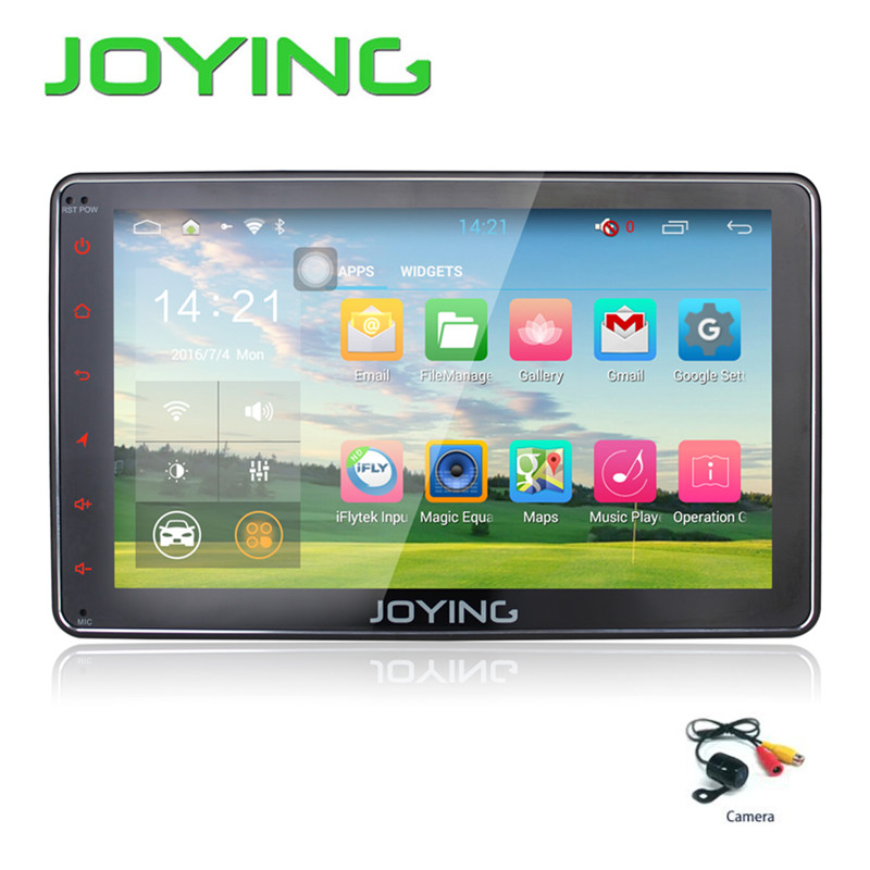 Joying Quad-Core 8 inch Android 5.1 AutoRadio Stereo Single 1 din Universal Car Media Player Android HD Capacitive GPS Car Radio