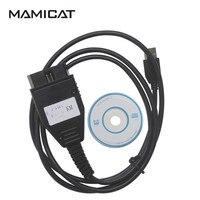 Бесплатная доставка Для FIAT КМ инструмент диагностики кабель для Fiat OBD2 адаптер Сканер км программист метр Пробег коррекции