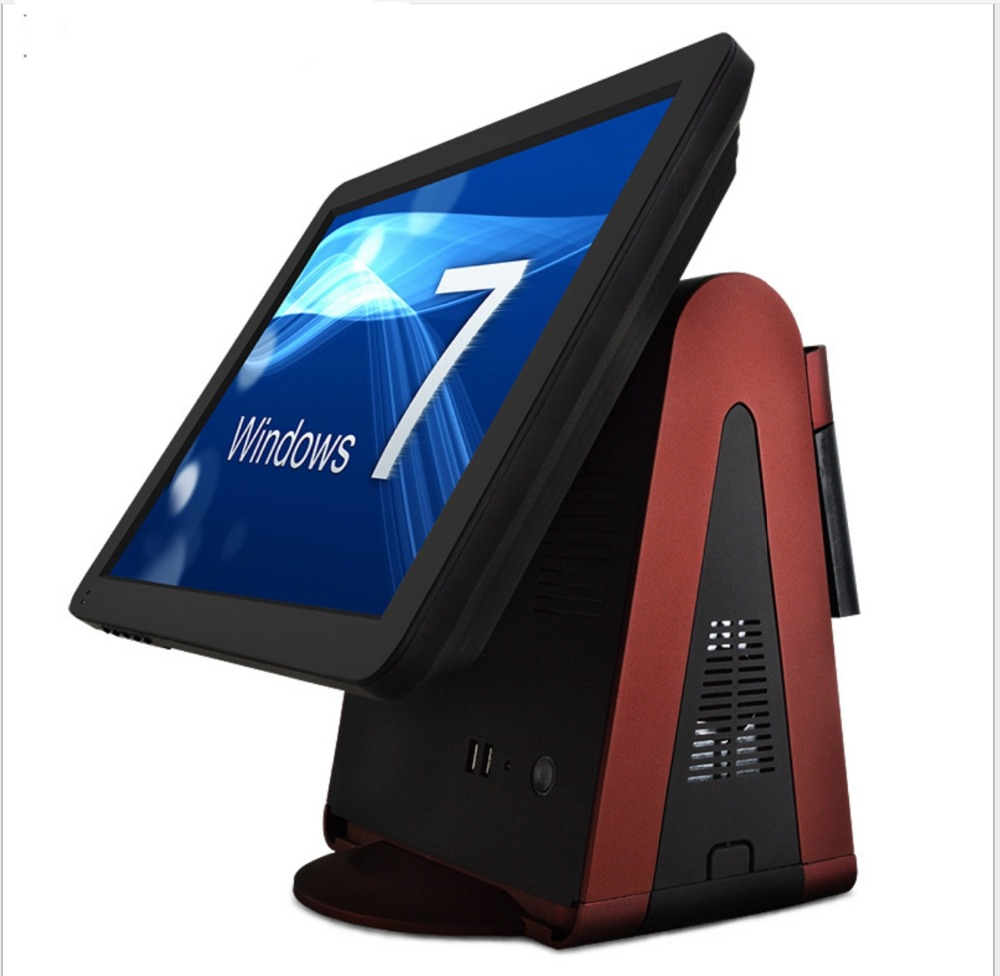 15 Inch All In One Touch Screen POS Terminal / All In One POS System