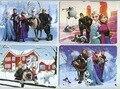 4 шт. мультфильм головоломка бумаги дети детские игрушки подарки Принцесса, животных, птицы, мультфильм изображения, автомобили, роботы (10*14 см)