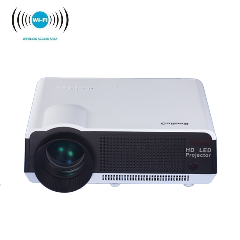 Free Shipping 2016 Bl35 Projector Full Hd Tv Home Cinema: 2016 New Updated LED Full HD LCD Projector 1280x800p