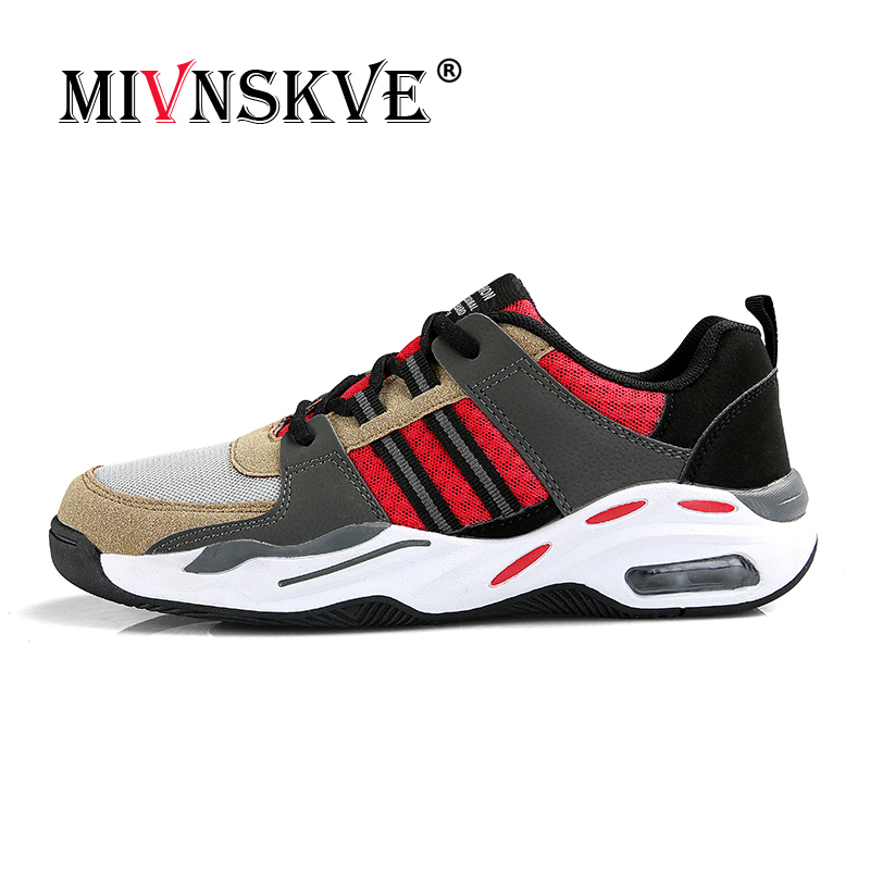 MIVNSKVE Sneakers New version of flying woven sports shoes Breathable light summer models Men must-have Outdoor running shoes