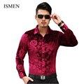 Camisas de hombre estilo británico de manga larga camisas ropa Casual delgado vestido de hombre Camisa Chemise Masculina Camisa Vetement Homme