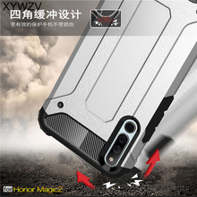 For Huawei Magic 2 Case Shockproof Armor Rubber Hard Phone Back Cover Shell Fundas