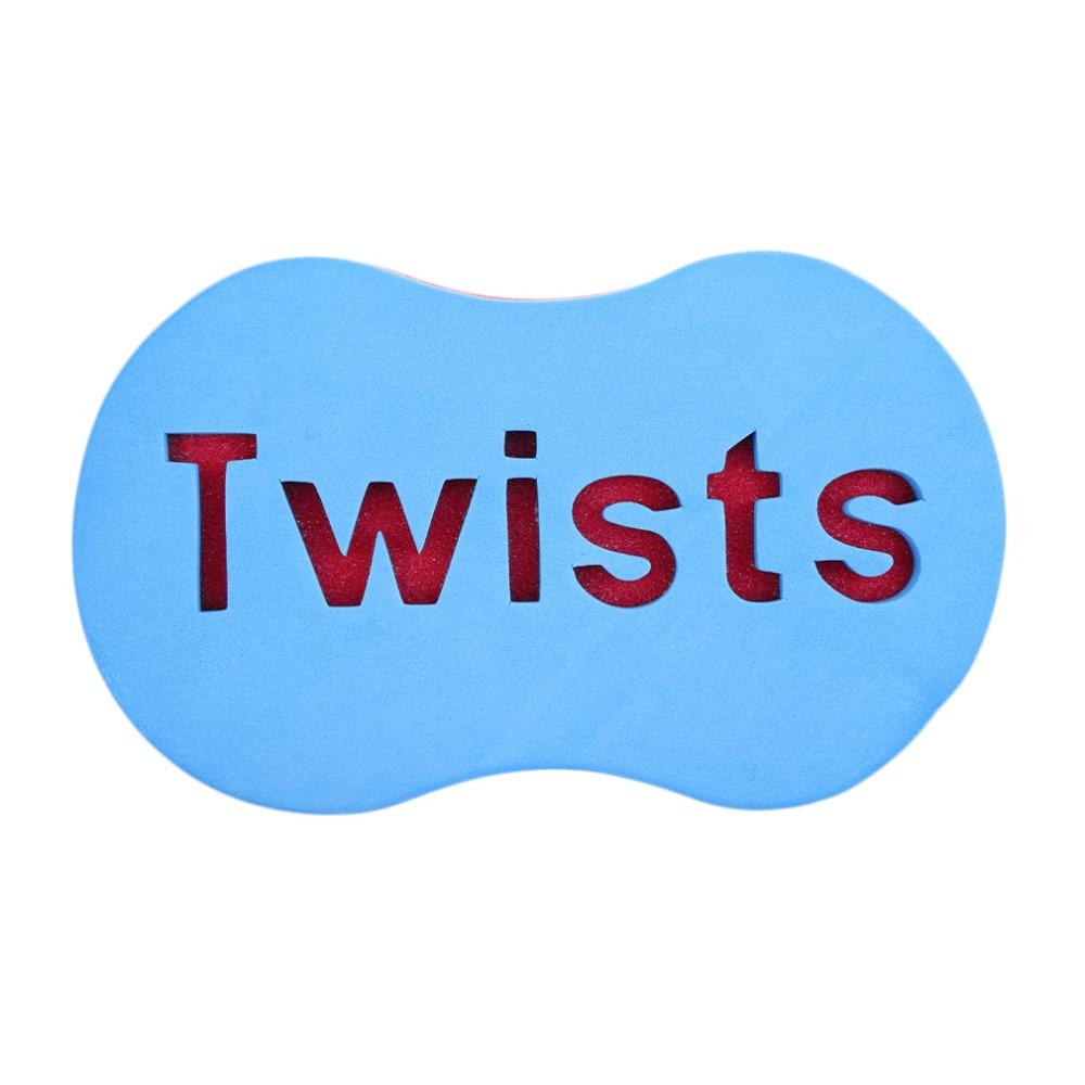 46 Holes Magic Hair Twist Sponge Dreads Twisting Locks Dreadlocks Curl Brush Sponge Barber Hair Brush Wave Design Beauty New