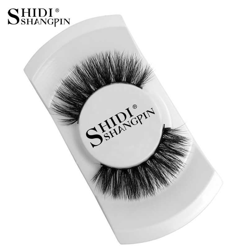 Official Website 1pair Soft Natural Charming Handmade 3d Real Mink False Eyelashes Messy Cross Curling Full Strip Lashes Cosmetic Makeup Tools Beauty Essentials