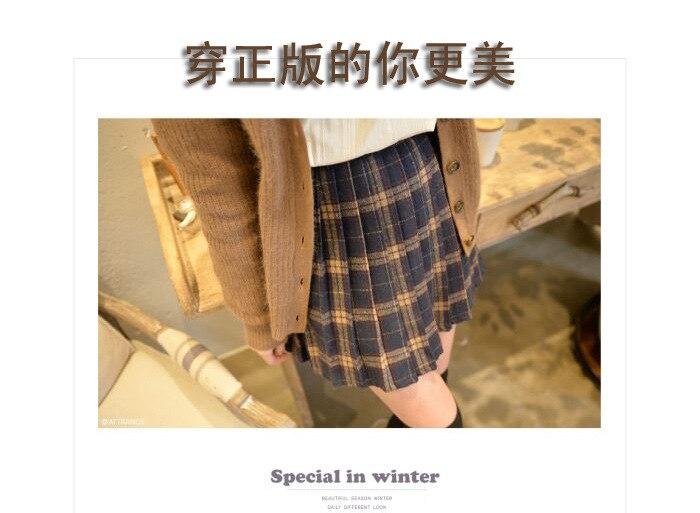 HTB1NXDUNFXXXXXqaFXXq6xXFXXXB - FREE SHIPPING Pleated skirt plaid bodice short skirt JKP093