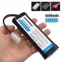 Liaohoo 7.2 В 5000 мАч NiMH аккумуляторной Батарея пакет для Дистанционное управление автомобиля Р/У Машинки с универсальным разъемом (деканы/Traxxas /Tamiya)