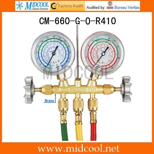 Sight Glass Brass Testing Manifolds CM-660-G-O-R410Sight Glass Brass Testing Manifolds CM-660-G-O-R410