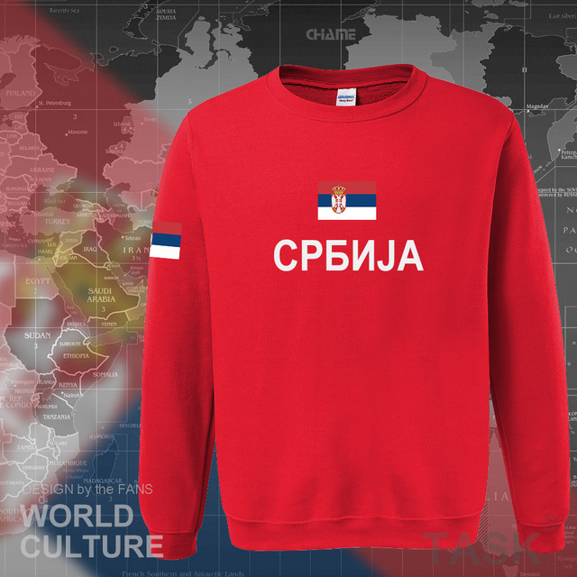 Serbia Serbian Serbs hoodies men sweatshirt sweat new hip hop streetwear clothing sporting top tracksuit nation 2017 SRB Srbija 3