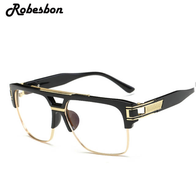 af80c84784 Online Shop 2018 Men Brand Oversized Frame Alloy Optical Glasses Frames  Women Classic Optical Eyeglasses Frames Women Best Fashion Glasses