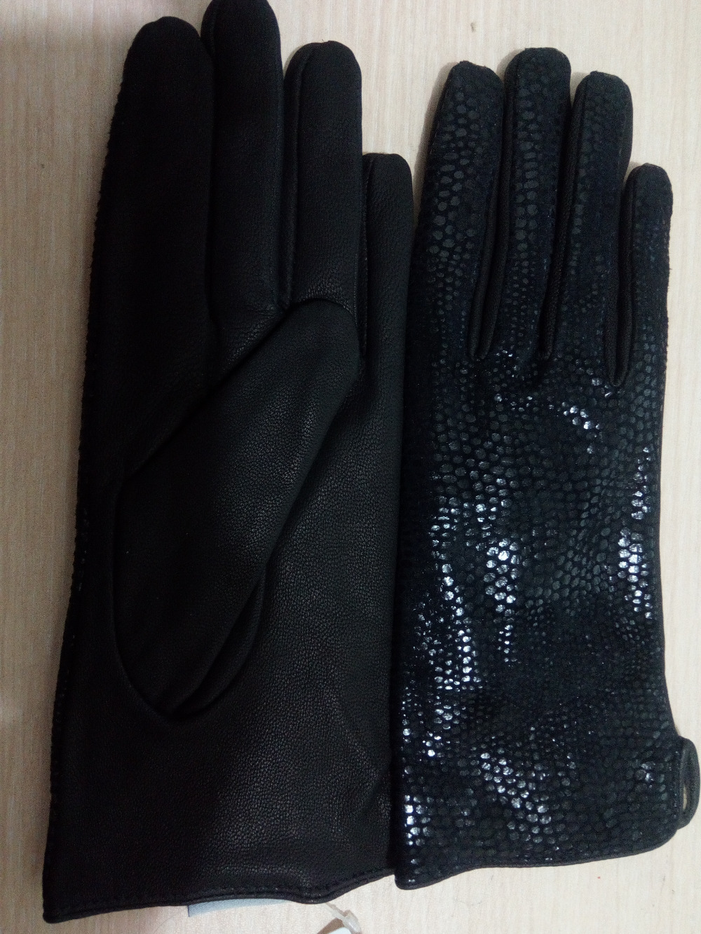 GLV1007 Fall And Winter Leather Wool Outdoor Sports font b Gloves b font cycling font b