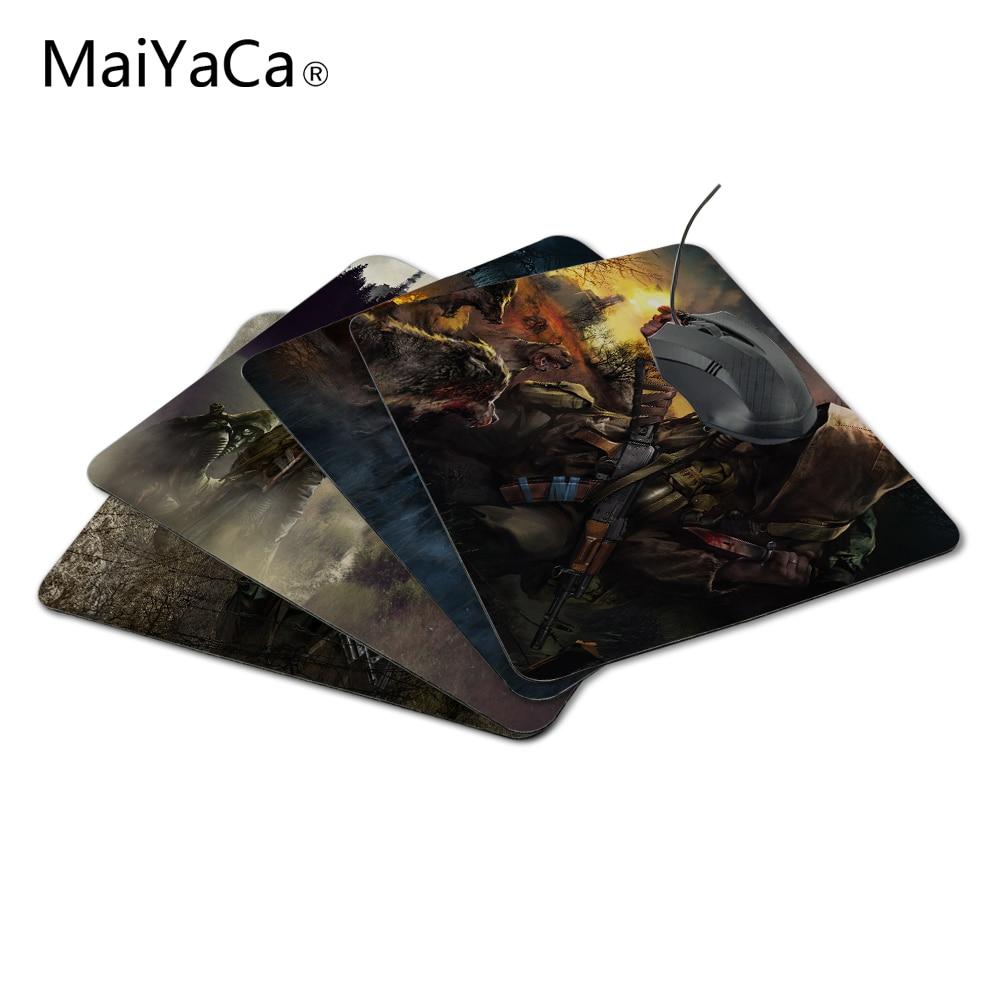 MaiYaCa Free Shipping Interesting Pattern STALKER Mouse Pad Gaming Or Office Mice font b Play b