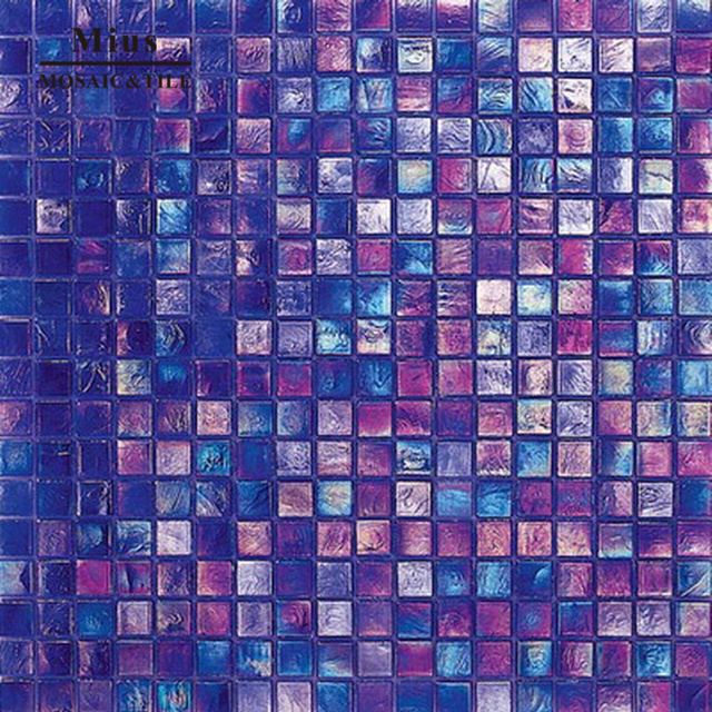 Iridescent glass swimming pool mosaic tile -in Wallpapers from Home ...