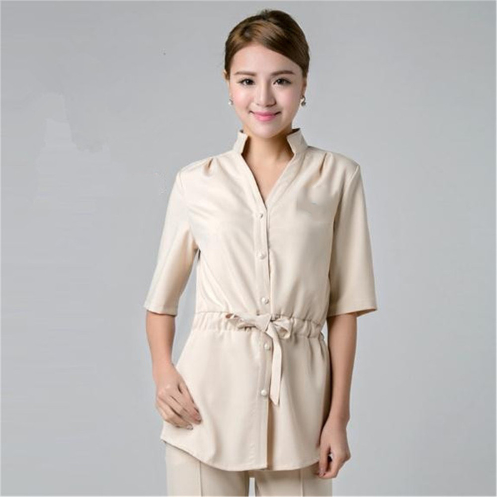 Online buy wholesale scrubs nurse from china scrubs nurse for Spa uniform wholesale